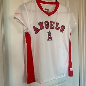 Youth angles shirt, but can wear if an adult small